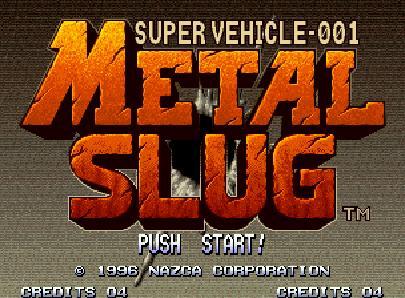 Opening de metal slug